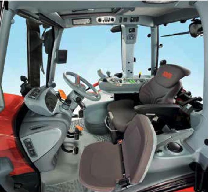 Trattore gommato same audax 200 220 gruppo zavalloni for Pulitore di cabina